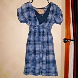 SIZE L JUNIORS CHELSEA & VIOLET 2 PC. DRESS